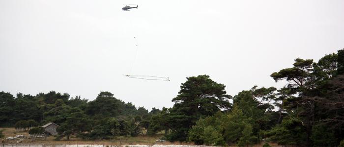 SkyTEM survey on Gotland