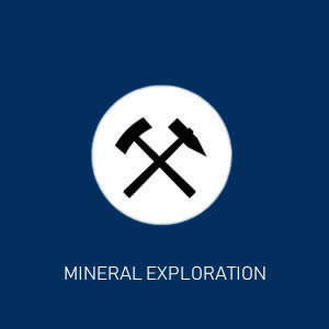 Find minerals from air